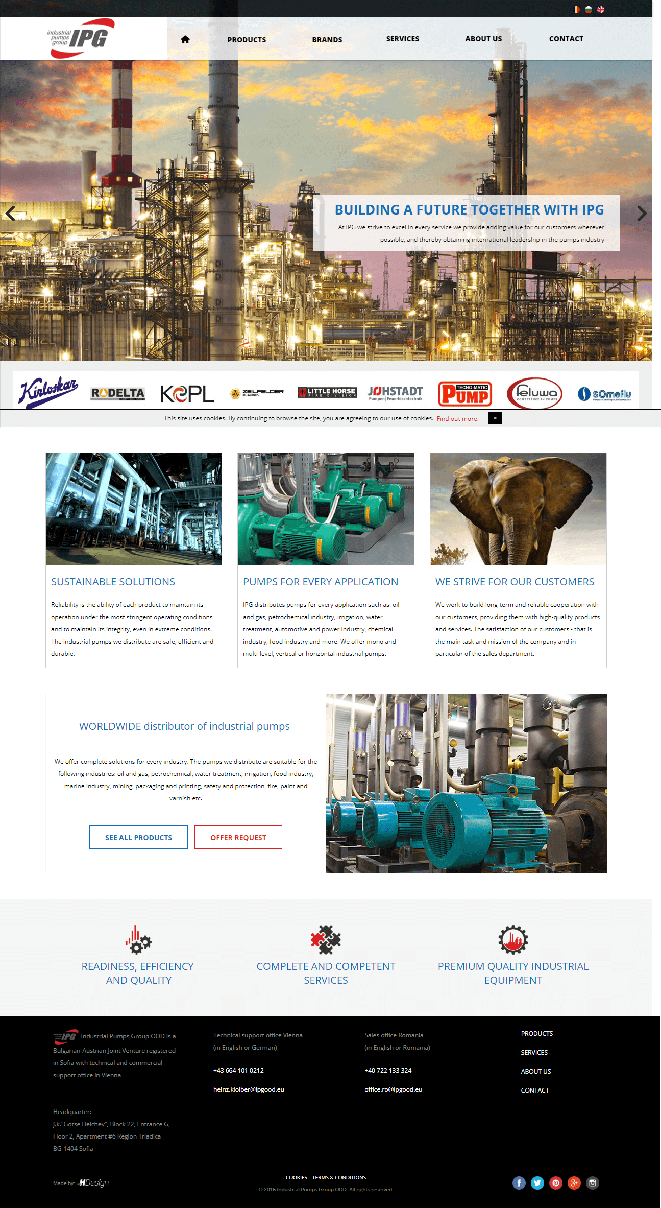 Industrial Pumps Group